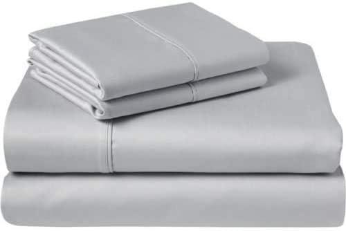 Yarns of Cotton Silver Grey Solid 販売実績No.1 爆売りセール開催中 Size Full Bed Sofa Sleeper She