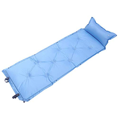 jzhi Inflatable cushion Self-inflating Sleeping Pads With Pillow Comfortable Tent Air Mattress Backpacking Campin Hiking