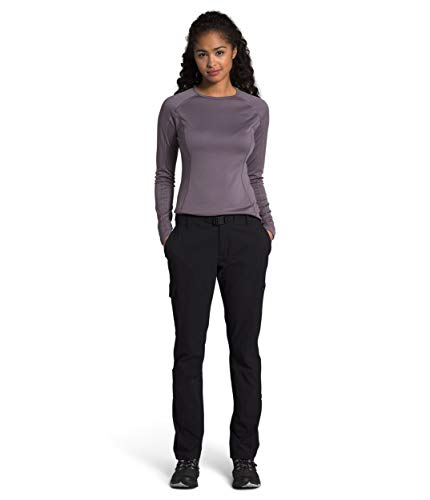 The North Face Women's Paramount Active Mid Rise Pant, TNF Black, 12 Regular