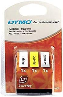 Dymo Letratag Tape 3 Rolls