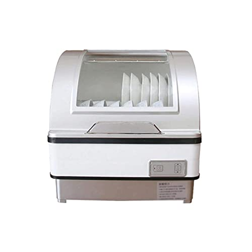 Sdesign Inicio Freestanding Lavavajillas Energía eficiente de energía, Desinfección de Alta Temperatura Rápido, Fruta y Limpieza de Vegetales, Platos, Ahorro de energía