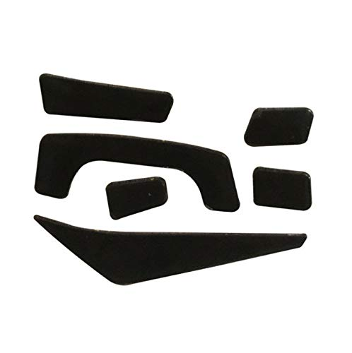 Replacement Mouse Feet Skates Compatible for MadCatz Rat 4 / Rat 6 / Mad Catz R.A.T. 8+ Optical Gaming Mouse