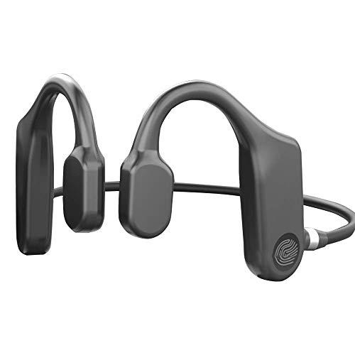 Nuevo Hueso inalámbrico, Auriculares de conducción Auriculares táctiles Bluetooth 5.1 Auriculares inalámbricos Llamada TWS Auriculares Impermeables, Adecuado para Deportes, Senderismo, Ciclismo