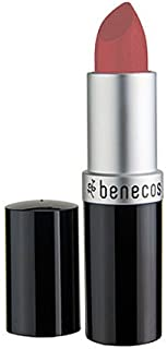 Benecos Natural Lipstick (Peach) - Peach Color Lipstick, Long-Lasting Gorgeous Color, Soft and Smooth Moisturized Lips, Organic, Vegan