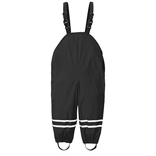 VCTKLN Unisex Kinder Regenlatzhose Sommer Wind Und wasserdichte Matschhose,fahrrad Regenhose,Hiking Trousers für Jungen und Mädchen