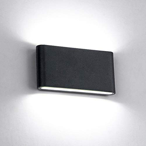 RAQ buitenwandlamp 12W LED-bron op en neer verlichting Moderne minimalistische binnen-buitentechniek veranda tuinlicht China zwart