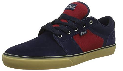 Etnies Herren Barge Ls Skateboardschuhe, Blue (Blau Navy Red Gum 466 466), 42 EU