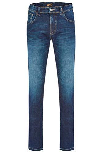 Camel Active 5-Pocket Boisstock Jean Bootcut, Bleu (Bleu 45), W40/L34 (Taille Fabricant: 40/34), Homme