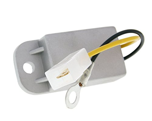 2EXTREME Spannungsregler Regler Gleichrichter Spannungsbegrenzer 6V für Piaggio Si, Vespino, Suzuki Maxi, TS 50 X