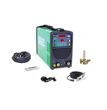 2021 Everlast PowerTIG 185DV AC/DC TIG Stick Welder 110/220 Volt Inverter-based Dual Voltage 185Amp