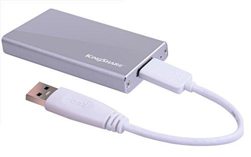 M.2(NGFF) SSD→USB3.0 外付けケース