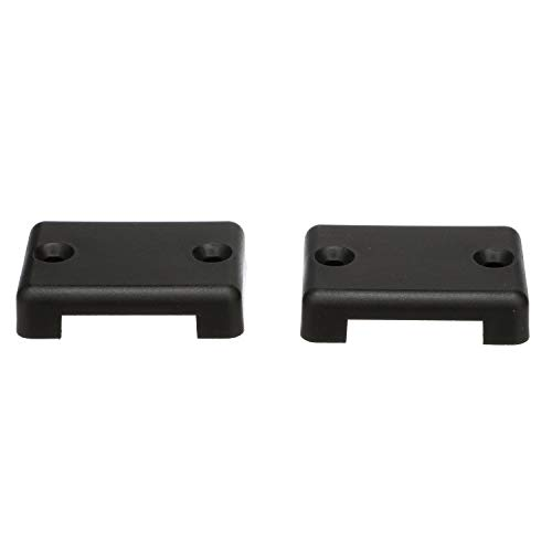 Seachoice 16251 Plastic Wire Cover, Black Finish, Set of 2
