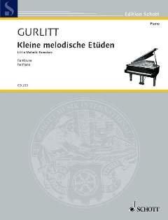 KLEINE MELODISCHE ETUEDEN OP 187 - arrangiert für Klavier [Noten / Sheetmusic] Komponist: GURLITT CORNELIUS
