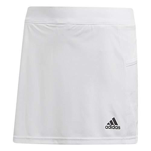 adidas T19 Skort W Skirt, Mujer, White, M