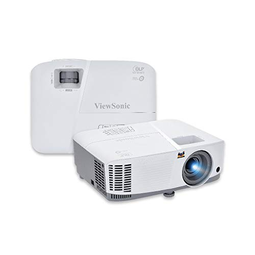 Viewsonic PG603WBusiness DLP Beamer (WXGA, 3.600 ANSI Lumen, HDMI, USB, 10 Watt Lautsprecher, 1.1x optischer Zoom) weiß-grau
