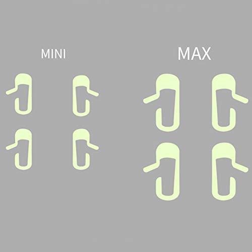 Autoaufkleber Einfache Installation DIY Erinnerungsschalter Griff Styling Aufkleber Innendekoration Ausgangstür Offenes Zubehör Warnzeichen Mode nweis für Tesla Model 3(1)