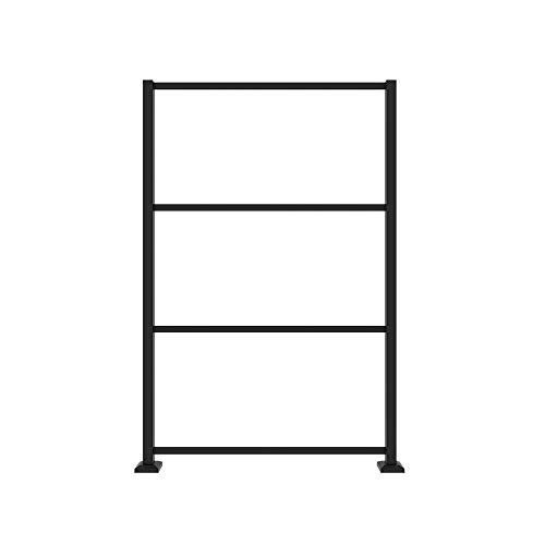 Barrette Outdoor Living 73040779, Matte Black Decorative Screen Panel Frame Kit