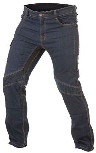 Trilobite Smart Jeans Herren Motorrad Hose Blau Protektor Länge 32 Tragekomfort Stretch Verstärkt, 38186304, Größe 40