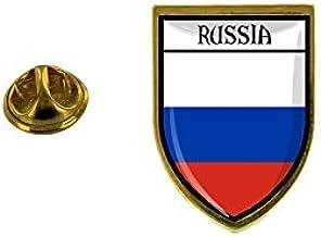 Akachafactory Pin aansteker, stedelijke vlag Rusland Rusland