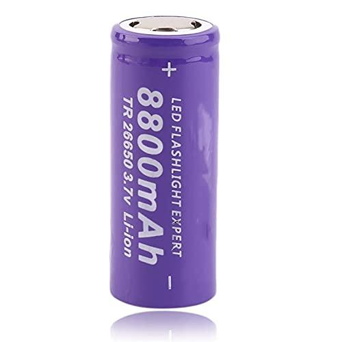 RECORDARME 1 unids 26650 3.7 V 8800 mAh Li-Ion batería recargable, para linterna herramientas eléctricas Bicicletas eléctricas faro luz led juguete cámara control remoto