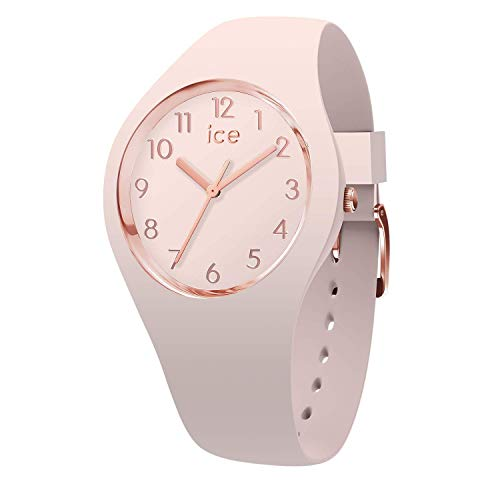 Ice-Watch - Ice Glam Colour Nude - Orologio da Donna con Cinturino in Silicone - 015330, Small, Rosa