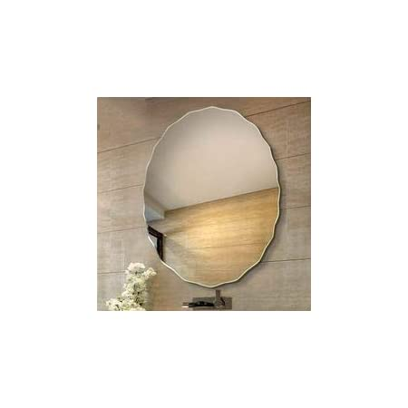 Quality Glass Glass Wall Mirror (Silver, 24 X 24Inch)