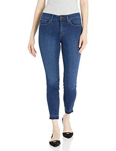 NYDJ Women's Ami Skinny Ankle with Release Hem, Cooper, 6