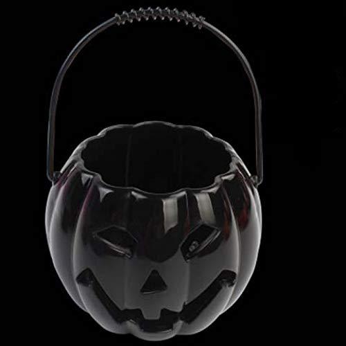 Halloween leuchtender Klang aushöhlen Kürbislaterne Geisterlaterne Kinder tragbare Laterne Halloween Dekoration Requisiten Kürbis Eimer