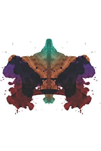Rorschach - Psychological Test: Ruled Notebook With Psychological Test - Rorschach Test Picture Journal By Swiss Psychologist Hermann Rorschach For ... Write In) (Rorschach Test Notebooks, Band 4)