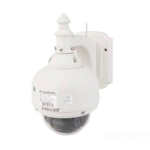 PhilMat Wanscam HW0028 1.0 Mega px 720P HD IR-Cut Zoom CCTV IP telecamera di sicurezza