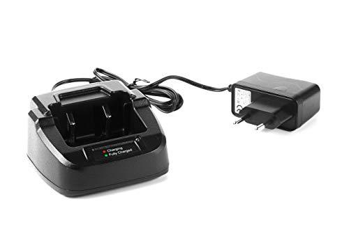 Cargador Tipo bañera y Adaptador de alimentación para el walkie Dynascan DB-65