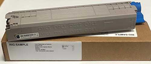TONER OKI MC853DN MC873DN MC853 MC873 - NEGRO - 7.000 PAGINAS A4 (EIN / ISO) - CÓDIGO SAP OKI: 45862840 - EAN ORIGINAL OKI: 5031713064206 - PESO: 536 GRAMOS - REGENERADOS, RECONSTRUIDOS
