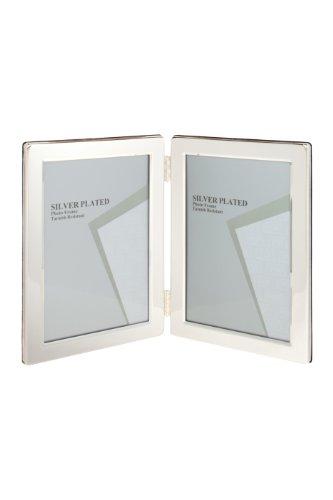 Maturi Photo Frame, Silber, 2.5 by 3.5-Inch