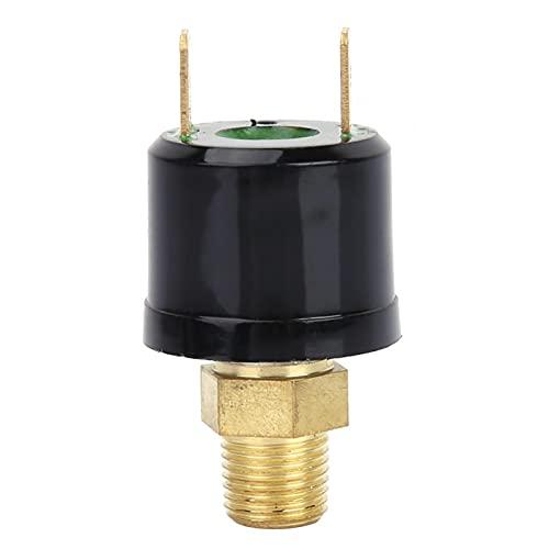 LANTRO JS - Interruptor de presión de aire 110-220VAC 6-36VDC, interruptor de control de presión del compresor de aire de 120-150 PSI