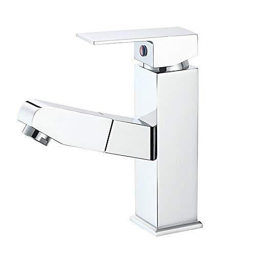 GHWZ tafelarmaturen wastafel pull taps huishouden toilet wastafel waterkraan met warme en koude taps tillen Kai