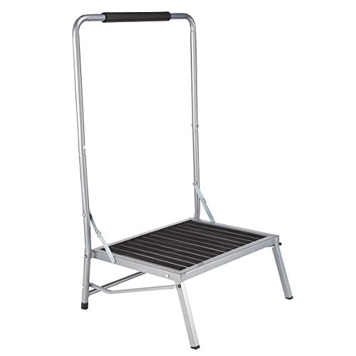 LivingSURE Extra Wide Step Stool with...