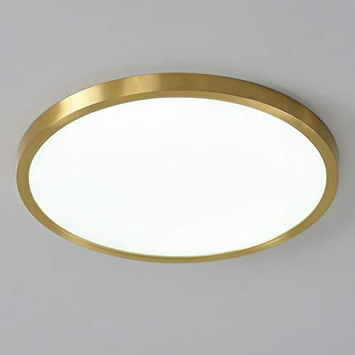 LF-MJ LED Lámpara de Techo Moderna Techo de Led Redondo para Techo para Habitacion Cocina Sala de Estar Dormitorio Pasillo Comedor Balcón,Blanco,30CM