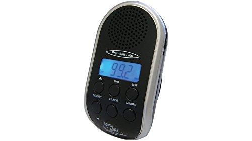 Fahrradradio Tripfinder BR 24 mit MP3-Anschluss, LCD-Anzeige mit Hintergrundbeleuchtung, Uhr und Leucht-LED