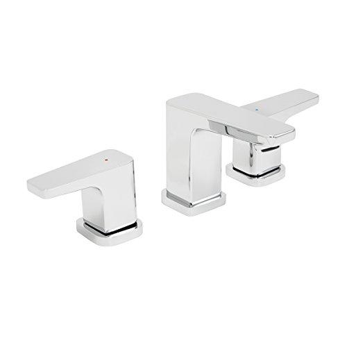 Speakman SB-2421 Kubos 8 in. Widespread Bathroom Faucet, Polished Chrome