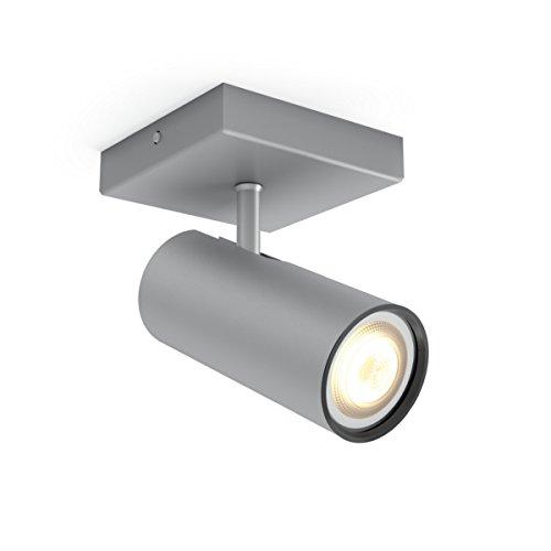Philips Hue White Ambiance BURATTO Spot 1x5.5W extension - Aluminium (télécommande non incluse)