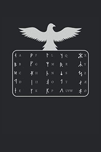 Wikinger Notizbuch: Motiv Nordische Symbole