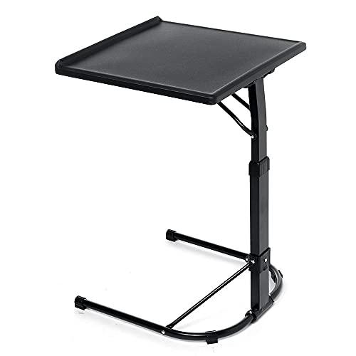 N / B Escritorio portátil de portátil portátil Ajustable con Soporte de Taza, rotación de la computadora portátilde la Cama de la Cama de la Cama de la Cama de la Cama del Laptop