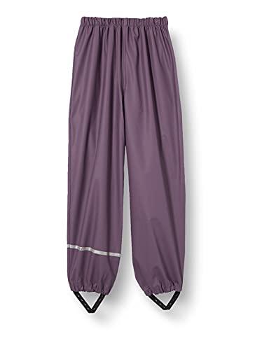 Celavi Unisex Kinder Rainwear Pants Regenhose, Vintage Violet, 70