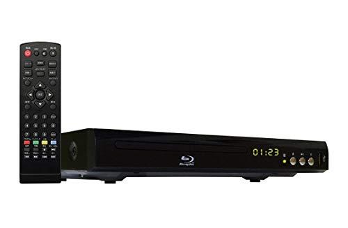 『ブルーレイ ディスク プレーヤー BD DVDプレイヤー 再生専用 HDMI USB 端子搭載 コンパクト サイズ』のトップ画像