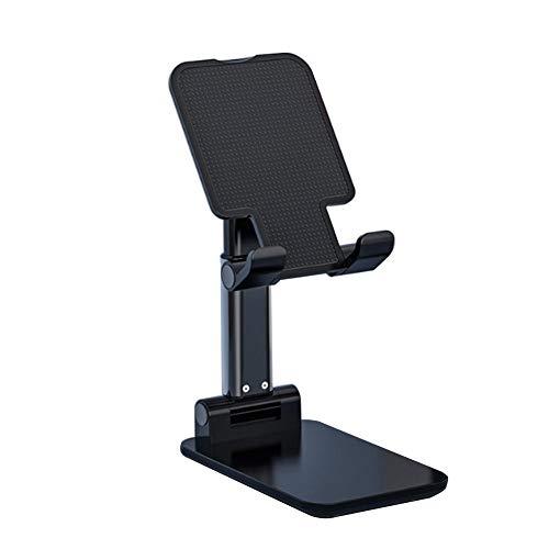Kesio Soporte plegable y ajustable, para escritorio de oficina, compatible con teléfonos, iPad, Samsung Galaxy Tabs, Kindle, Nintendo Switch (azul)