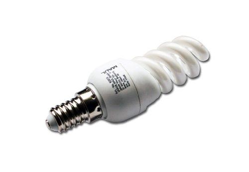 Maul Energiespar-Leuchtmittel, 9 Watt, Sockel E14, 2700 K 8287305