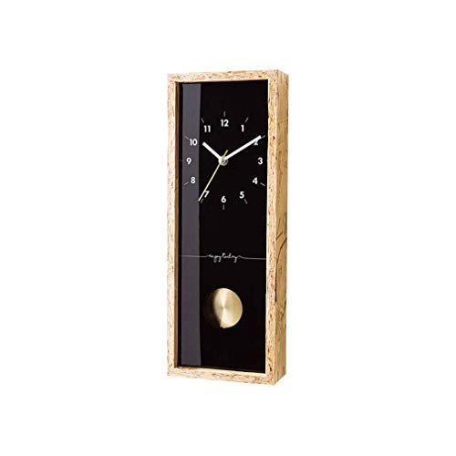 lquide Pendeluhr Modernes Design Stille Nicht Ticken Wanduhr Ornament Holz Wanduhr Wohnzimmer Schlafzimmer Küche Home Décor Uhren, B