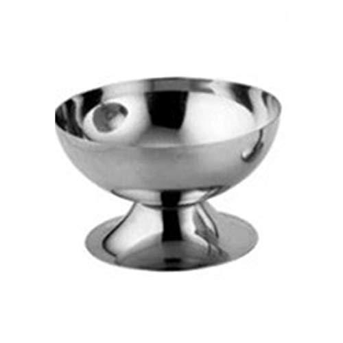 Panamami Copa de Helado de Acero Inoxidable Copa de Helado Copa de Copa Copa de Vino - Astilla