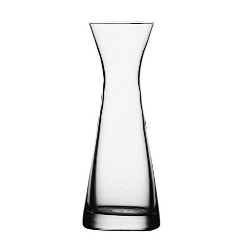 Spiegelau Vorteilsset 2 x 1 Glas/Stck Karaffe 0,1l 711/55 Tavola 7110155 und Gratis 1 x Trinitae Körperpflegeprodukt