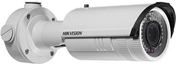 Hikvision Network Surveillance Camera - Outdoor - Weatherproof - Color (Day&Night) - 1.3 MP - 1280 x 960 - f14 Mount - vari-Focal - Audio - LAN 10/100 - MJPEG, H.264 - DC 12 V/PoE